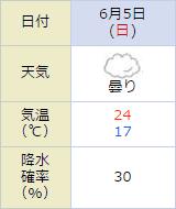 東京競馬場,天気